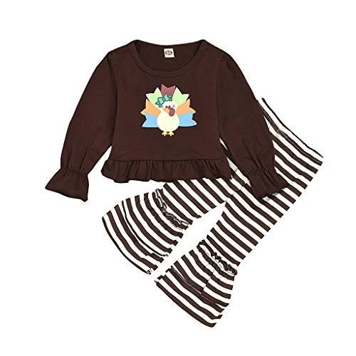 POachers vêtements bébé Fille Hiver Ensemble Bebe Naissance Automne Chemisier Manteau Enfant Chic Blouse Fille Manche Longue Haut Mode Impression Sweat Shirt Tops +Rayure Pantalons