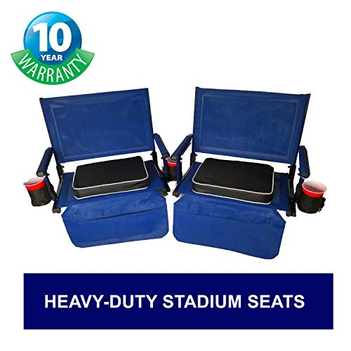 Air Seat Cushion Paria Outdoor Products Recharge Sit Pad Bleachers and Concerts Perfect for Backpacking Sporting Events Ultralight Camping