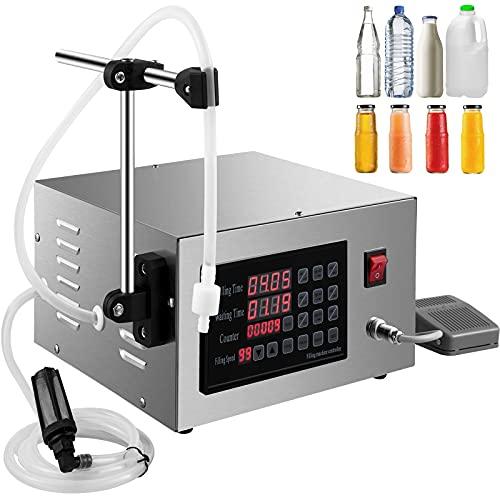 VEVOR XK-280 Füllmaschine Flüssigkeit 5ML-3500ML 50W Liquid Filling Machine Abfüller Flüssigkeitsabfüllmaschine