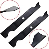 wadoy 405380 46 Inch Lawn Mower Blades Replacement for Craftsman Husqvarna Poulan 532405380 PP21011 (2 Packs)