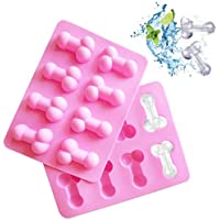 Dioycli Silicone Mould Funny Shape Ice Cube Tray