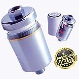 Filtro de Agua para la Ducha | Filtro de Ducha Antical | Elimina Cloro y Fluoruro | MiGrifo