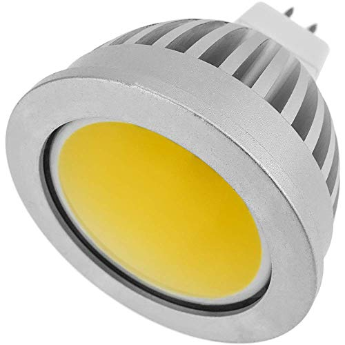 Cablematic 12 VDC MR16 COB LED-lampen, 50 mm, 3 W, warm