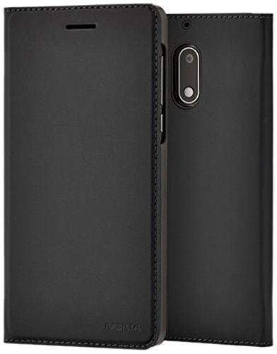Nokia 1A21M1N00VA Slim Flip Hülle CP-302 für Nokia 5 schwarz