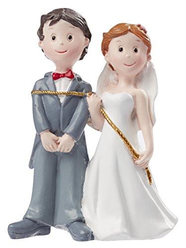 Hochzeitspaar mit Seil ca.8 cm