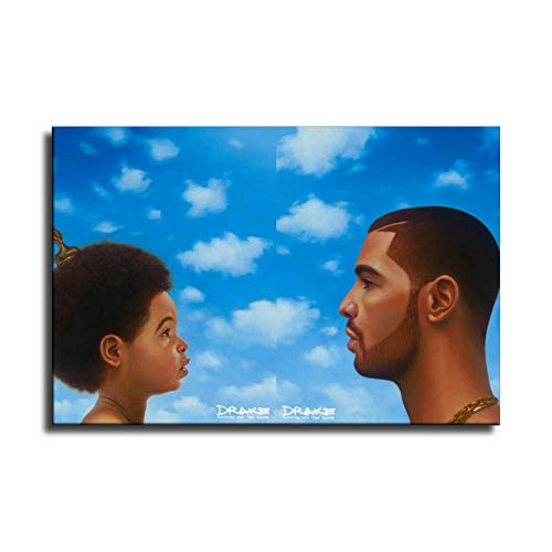 BOSHI Drake Nothing was The Same Canvas Art Poster and Wall Art Picture Print Modern Family Bedroom Decor Posters