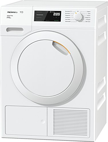 Miele TCE 530 WP Active Plus Wärmepumpentrockner / Energieklasse A+++ / 171 kWh/Jahr / 8 kg Schontrommel / Duftflakon für frisch duftende Wäsche / Startvorwahl und Restzeitanzeige / Knitterschutz