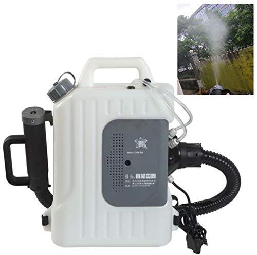 GJQION 10 litros Mochila ULV eléctrico del pulverizador, Medio Ambiente desinfección nebulizador...