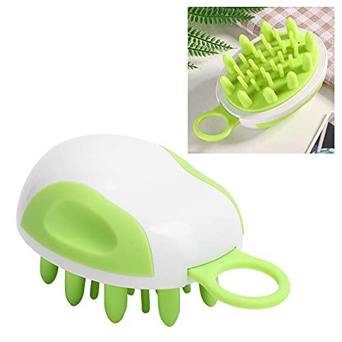 Cepillo para champú, cepillo para la caspa, 3,7 x 3,0 pulgadas, diseño de cepillo para limpiar el cuero cabelludo, para cabello grueso, largo o rizado
