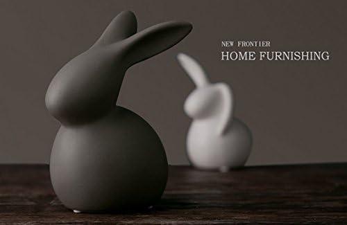 Ceramic rabbit figurines _image1
