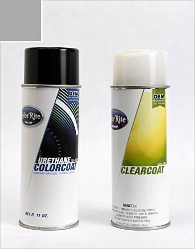 ColorRite Aerosol Automotive Touch-up Paint for Mercedes-Benz S-Class - Palladium Silver Metallic 792 - Value Package