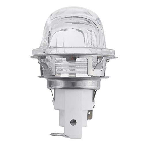 Soporte de la lámpara del horno G9 Cabezal del horno, resistencia a altas temperaturas 300 ° C Bombillas de la lámpara del horno 60W, soporte de la lámpara del horno, cabezal de la lámpara de