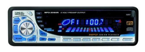 Boss RDS3060, CD - RDS/MP3 Receiver mit Fernbedienung, Autoradio