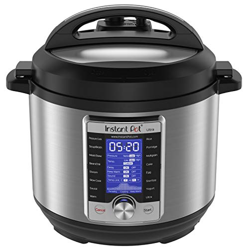 Instant Pot Ultra 6 Qt 10-in-1 Multi- Use Programmable Pressure Cooker, Slow Cooker, Rice...