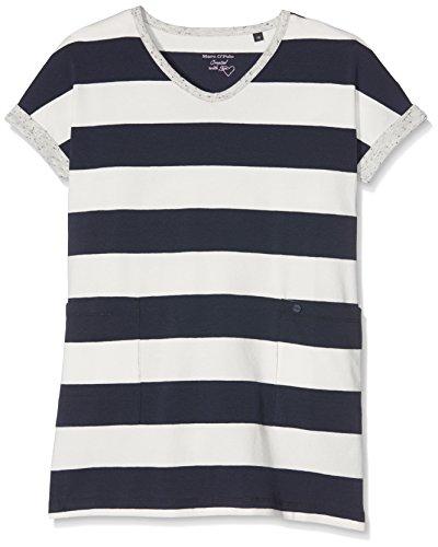 Marc O' Polo Kids Mädchen 1/4 Arm Kleid, Mehrfarbig (Y/D Stripe 0001), 176