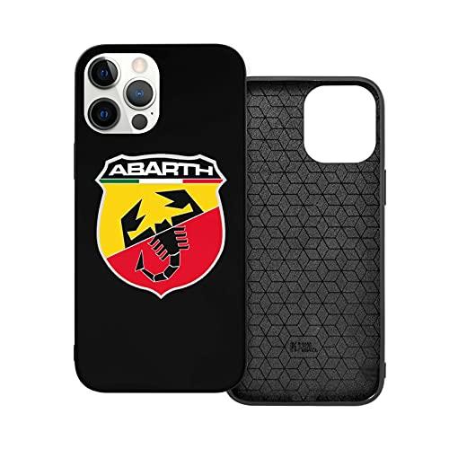 Compatibile con iPhone 12/11 PRO Max 12 Mini SE X/XS Max XR 8 7 6 6s Plus Custodie A-B-A-R-T-H Nero Custodie per Telefoni Cover