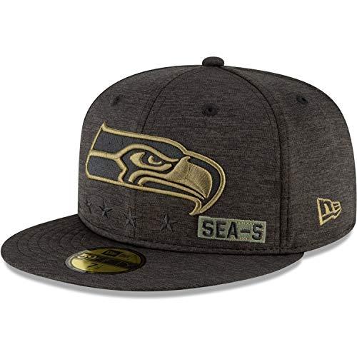 New Era Seattle Seahawks Salute to Service 2020 59Fifty Cap - 7 1/4-58cm (L)