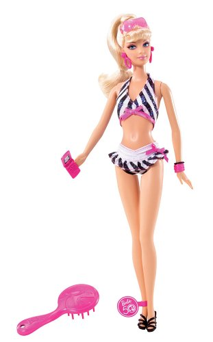 Barbie Then and Now 1959-2009 50th Anniversary Bathing Suit Doll