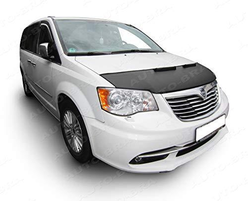 Auto-Bra AB3-00415 kompatibel mit Chrysler - Lancia Voyager, Town & Country Touring 2011-2016 Dodge Grand Caravan Bj. ab 2011 Haubenbra Steinschlagschutz Tuning Bonnet Bra