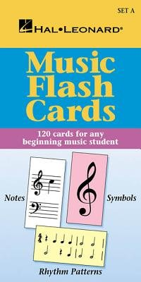 Music Flash Cards - Set a: Hal Leonard Student Piano Library [FLSH CARD-MUSIC FLASH CARDS -] [Paperback]