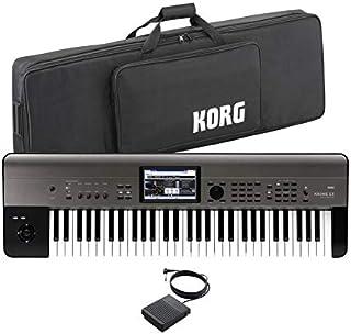 KORG コルグ/KROME 61EX【ケース&ペダルセット!】61鍵盤ワークステーション
