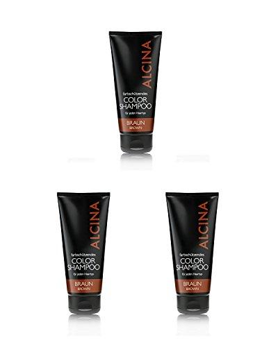 Alcina Color Shampoo Braun 200ml 3x