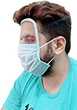Ben Martin 3 Ply Face Protective Mask with Transparent Shield for Men and Women