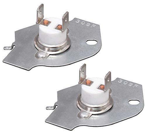 Kit de corte térmico para secadora 3977393, ajuste exacto para secadoras Whirlpool Kenmore Maytag, sustituye a 3399848 AP3094244 AH334299 279816VP por Seentech – Pack 2