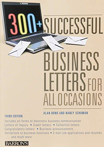 300+ Successful Business Letters for All Occasions (Barron's 300+ Successful Business Letters for Al