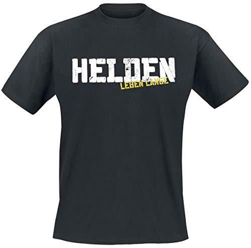 Böhse Onkelz Helden Leben Lange Männer T-Shirt schwarz L