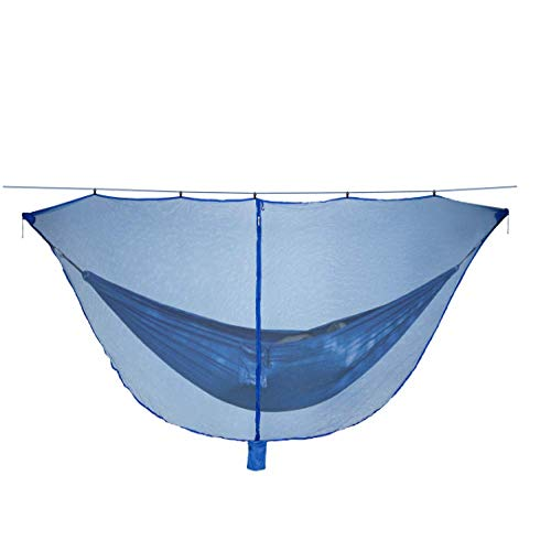 Hammock Mosquito Nets Camping Hammock Bed Bugs And Mosquito Nets-360 ° Protection Perfect Mesh Net Prevents Blind Spots, Mosquitoes And Insects From Invading