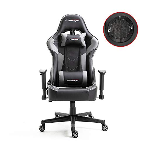 GTRanger Gaming Chair with Speakers Video Game Chair Racing Style Ergonomic...
