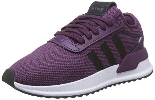 adidas Damen U_Path X W Gymnastikschuhe, Rot (Purple Beauty/Core Black/FTWR White Purple Beauty/Core Black/FTWR White), 38 2/3 EU