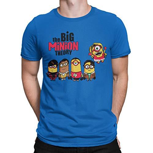 Camisetas La Colmena 208-The Big Minion Theory (Donnie) Royal S