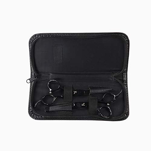 HXIAOQ Kit 6' Tijeras de Peluquería Profesional Corte de Pelo de Acero Inoxid con Caja,Tijera para Cortar&Reducción