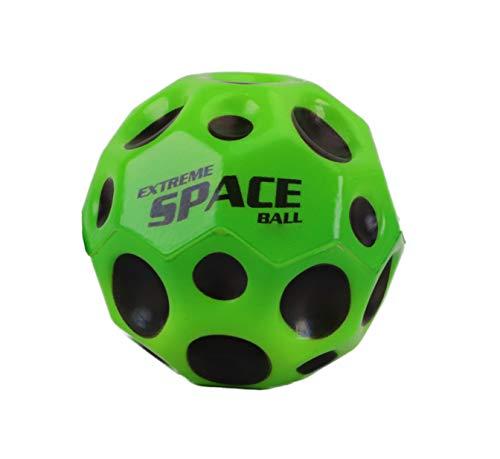 Toyland 6,5 cm extremer Weltraumball mit extrem hohem Sprungkraft - grün - Taschengeldspielzeug