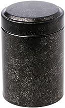 ESTone Mini przenośne pudełko na herbatę Blacha ocynowana Podróżny Wazon Na zewnątrz Uszczelnione puszki Prezenty 4,5 x 6,...