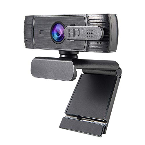 Yuxahiugstx 1080P HD-Computer-Kamera, Integriertes Mikrofon Webcam, Autofokus Anti-Voyeur-Funktion Kamera Web-Kameras für Computer