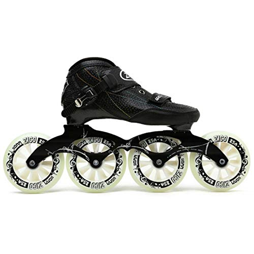 JRYⓇ Roller Skates - High Performance Professional Inline Skates for Adults,Lightweight Carbon Fiber Thermoplastic Breathable Racing Skates