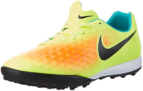 Nike Magistax Onda II TF, Botas de fútbol para Hombre, Amarillo (Volt/Black-Total Orange-Clear Jade), 38.5 EU