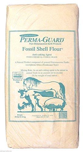Perma-Guard Bio50 50 lbs Bag of Perma-Guard Diatomaceous Earth-DE Food Grade 50 lbs (1) 50 lbs bag white