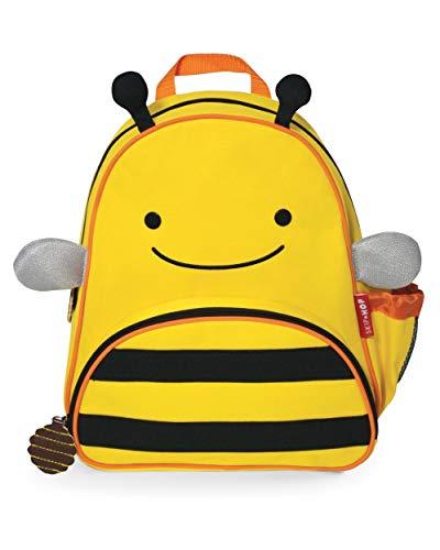 "Skip Hop Toddler Backpack, 12"" School Bag, Bee"