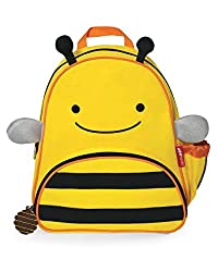 Skip Hop Zoo Pack Little Kid Backpack Bee