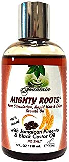 Sponsored Ad - Fountain Mighty Roots With Jamaican Pimento Black Castor Oil 4 Ounces