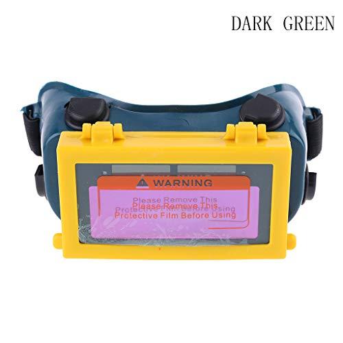 Congchuaty lasogen bril auto donker helm masker oogschaduw veiligheidsbril Zwart