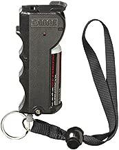 SABRE RED Pepper Spray - Police Strength - with Stop Strap, Key Case, Finger Grip, 20 Bursts & 10-Foot (3M) Range