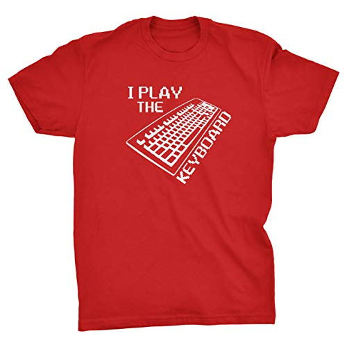 Viper Ik Speel Het Toetsenbord Computer T-Shirt