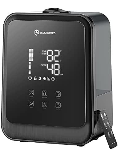 Elechomes HTJ-2119 Ultrasonic Humidifier 4.5L(1.19Gal) Vaporizer Cool Mist for...
