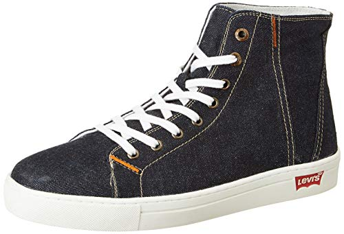 Levi's Men's Akron Navy Blue Boots-9 UK (43 EU) (10 US) (38099-1654)