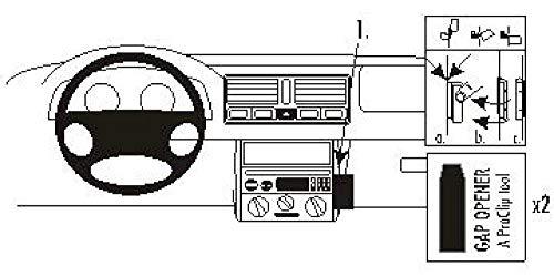 Brodit 852808 ProClip Halterung, schwarz